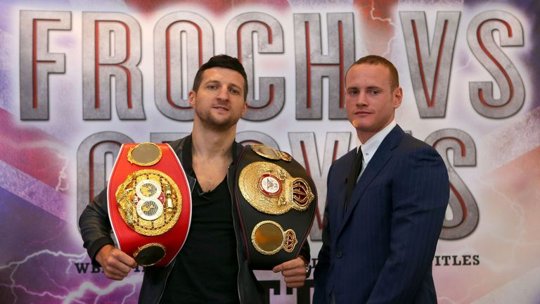 Carl Froch says George Groves is out of his depth