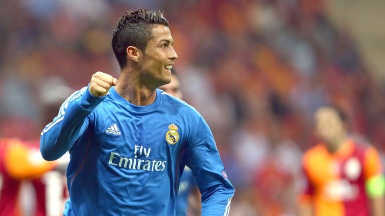 Cristiano Ronaldo hit a hat-trick against Galatasaray