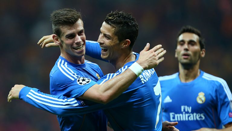 Gareth Bale: Real Madrid attacker says there's no rivalry with Cristiano Ronaldo