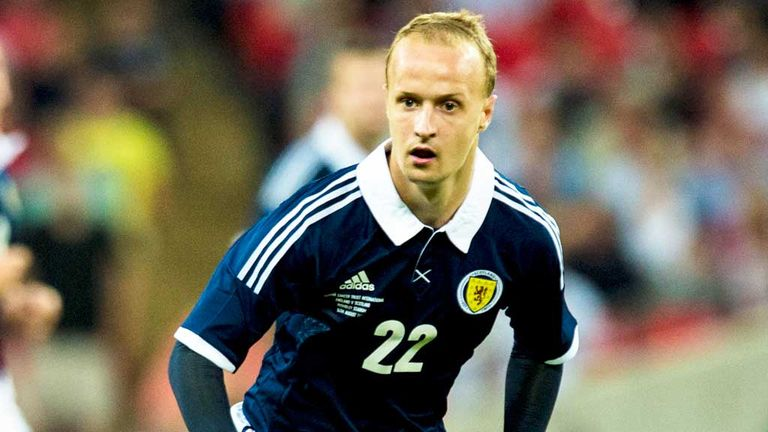 Leigh Griffiths: Scotland striker hopes to finish the World Cup campaign strongly