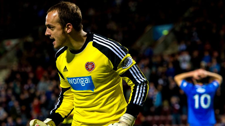 Jamie MacDonald: Says Hearts have not given up on league fight