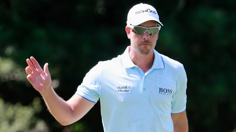 Henrik Stenson: Four clear at halfway