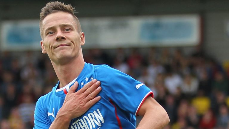 Ian Black: Suspension complete means the Rangers defender is ready to make his comeback against Dunfermline on Wednesday
