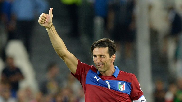 Gianluigi Buffon: Let in a flurry of goals at the weekend