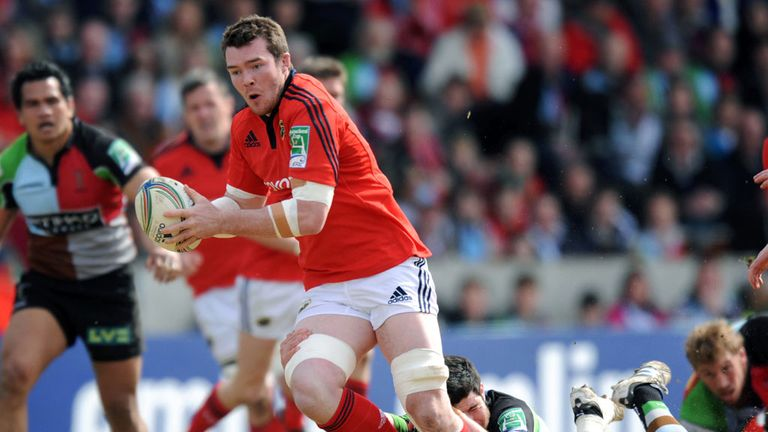Will Peter O'Mahony be lifting the Pro 12 Cup come May 2015?