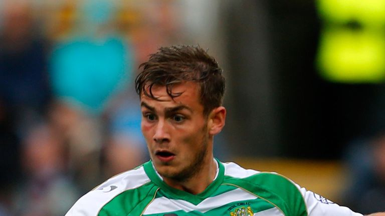 Joe Ralls: Helped Yeovil to a share of the points