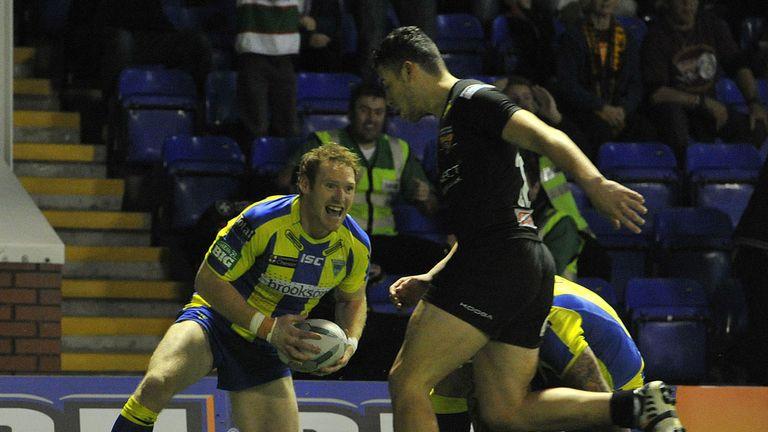 Joel Monaghan: On target for Warrington