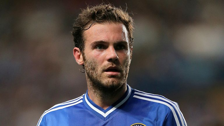 Juan Mata: Not concerned about the competition for places at Chelsea