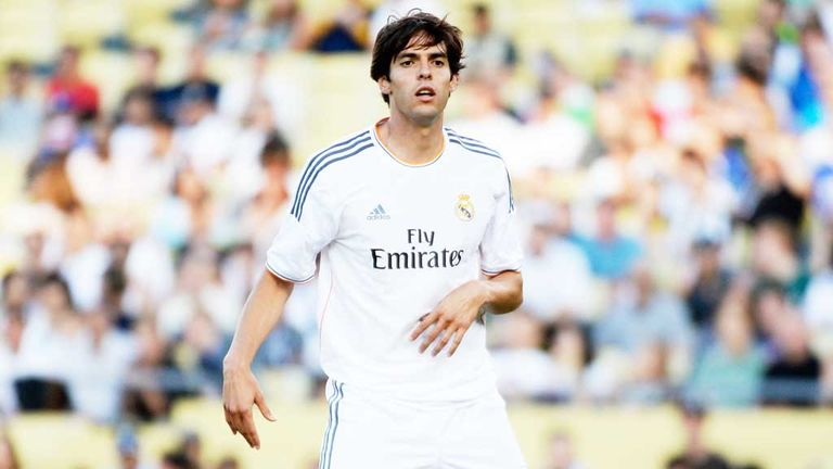 Kaka: Has dreamt of a move back to AC Milan