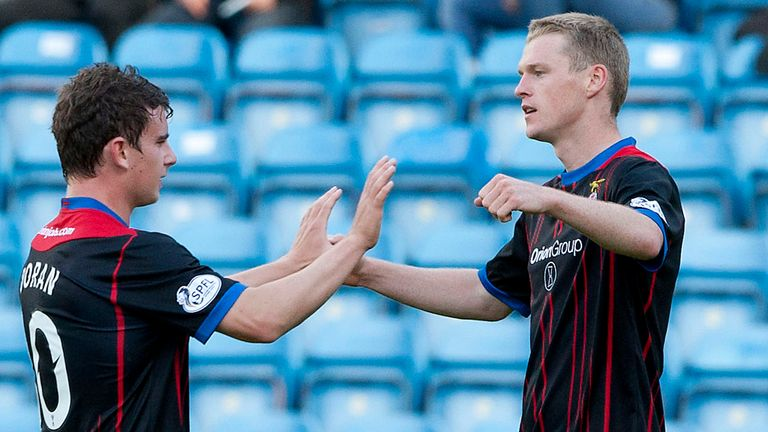 Billy McKay: Has been a prolific source of goals for Inverness