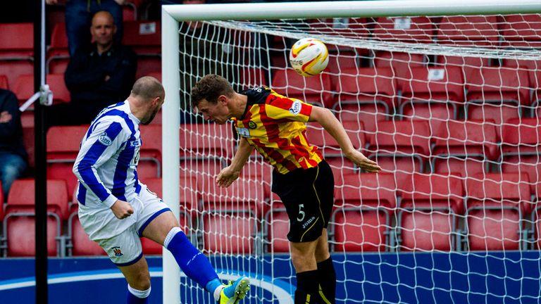 Kris Boyd: Heads home Kilmarnock's equaliser
