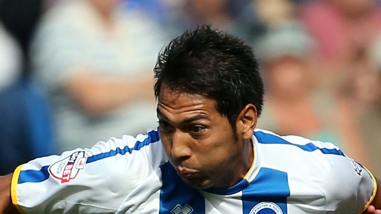 Leonardo Ulloa: Has impressed since linking up with Brighton in January