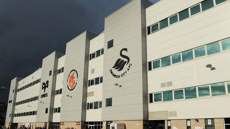 Swansea and Osprey's stadium the Liberty is also publicly owned
