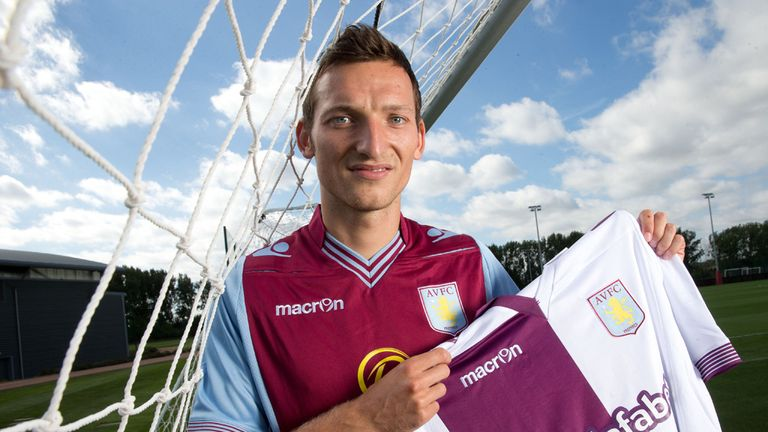 Libor Kozak: New striker hoping to settle quickly at Aston Villa