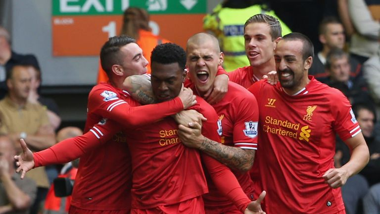 Daniel Sturridge: In fine form once again as Liverpool beat Manchester United 1-0