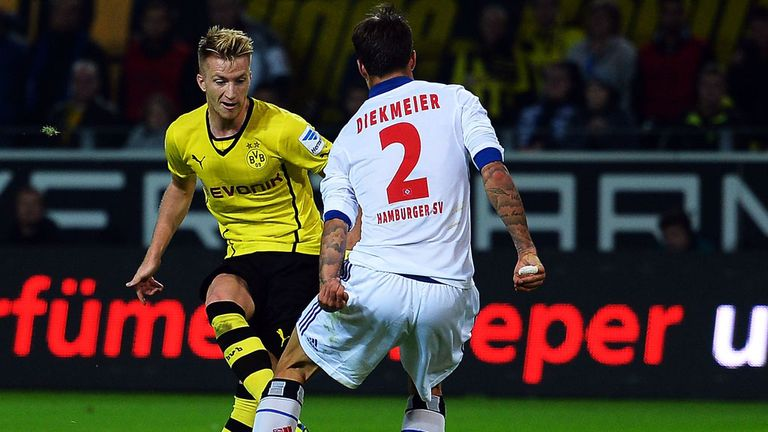 Marco Reus: Reading little into reports of interest from Europe's top clubs