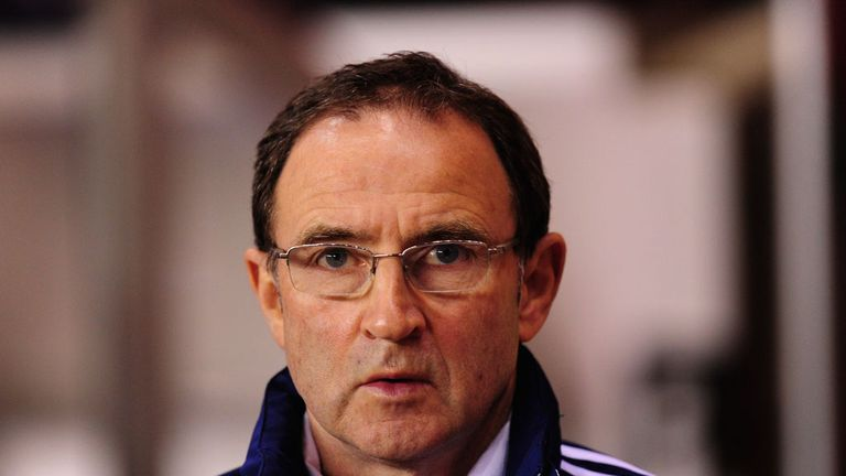 Martin O'Neill: Favourite for the Republic of Ireland job
