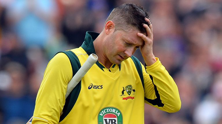 Michael Clarke: Is a doubt for the first Ashes Test