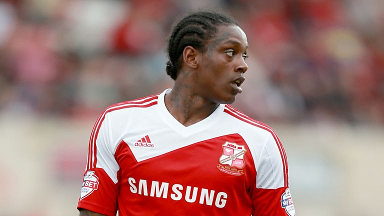 Nile Ranger: Opened the scoring for Swindon