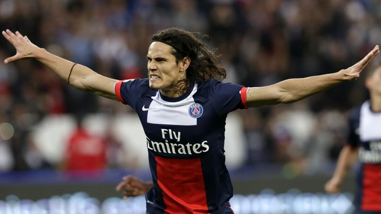Edinson Cavani: PSG buoyed by midweek victory