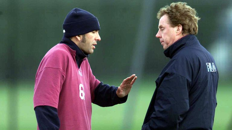 Paolo Di Canio: With Harry Redknapp during their time at West Ham