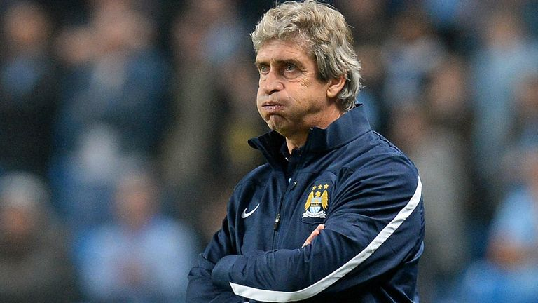 Manuel Pellegrini: Shocked by his side's defeat at Aston Villa