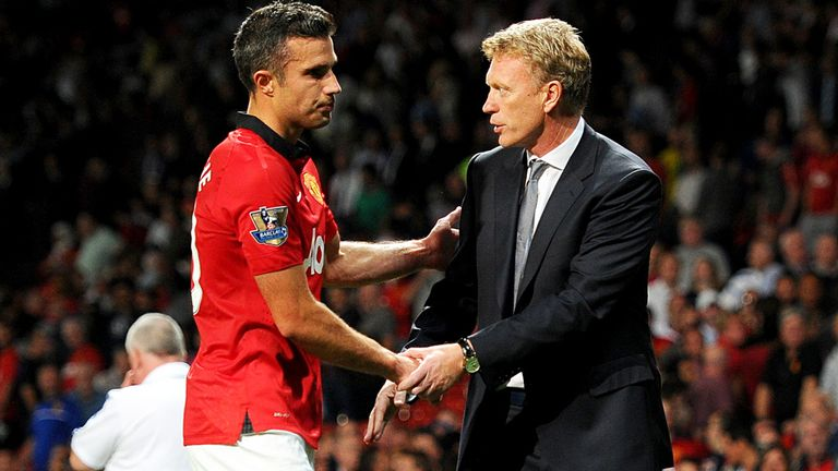 Robin van Persie & David Moyes: Working relationship is fine