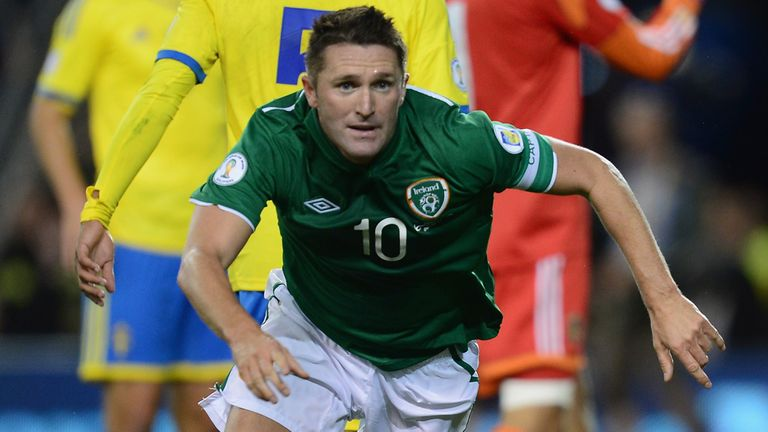 Robbie Keane: Set to lead Ireland against Kazakhstan