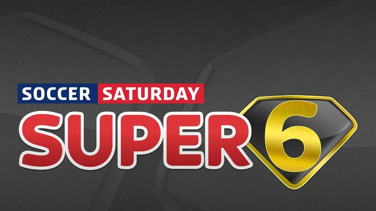 Super 6: Free-to-play game has a boosted jackpot of £1million this weekend