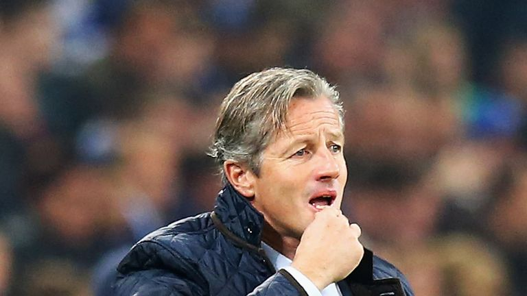 Jens Keller: Under pressure at Schalke