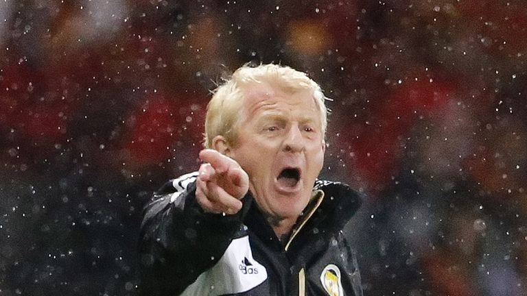 Gordon Strachan: The Scotland boss was proud of his players