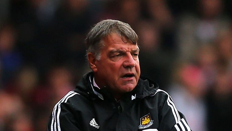 Sam Allardyce: West Ham boss tried to sign Romelu Lukaku this summer