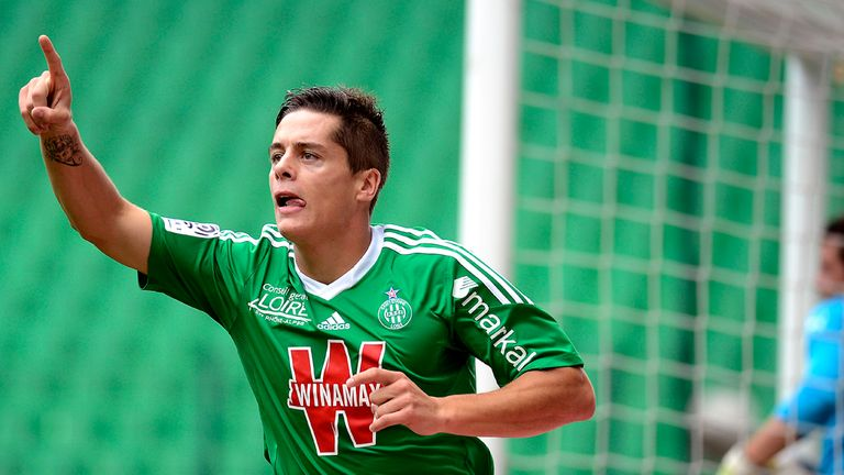 Romain Hamouma: Scored superb goal for Saint-Etienne