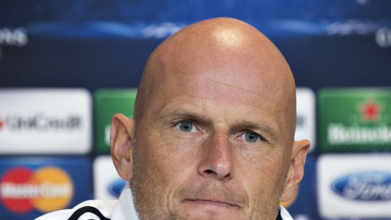 Stale Solbakken is back in the Champions League with FC Copenhagen