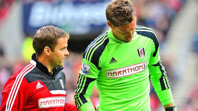 Maarten Stekelenburg: Suffered a shoulder injury on the opening weekend