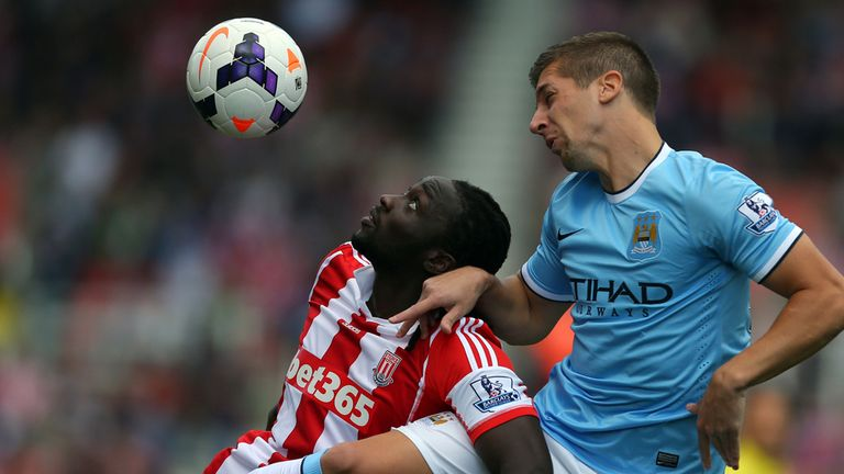 Stoke City: Dominated for long periods against Manchester City