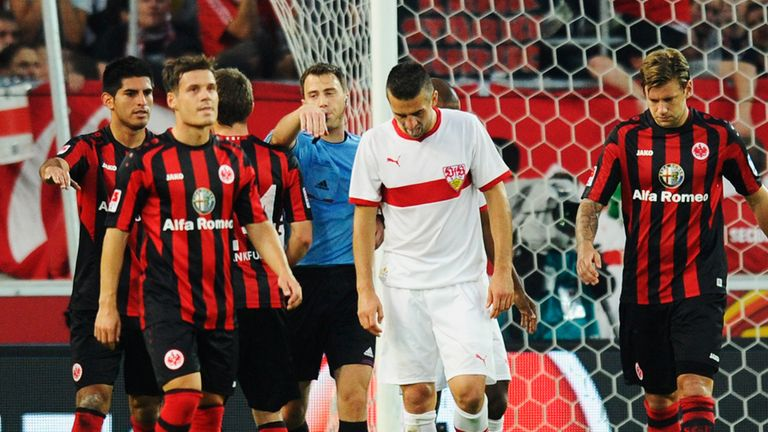 A dejected Vebad Ibisevic missed a last-gasp penalty