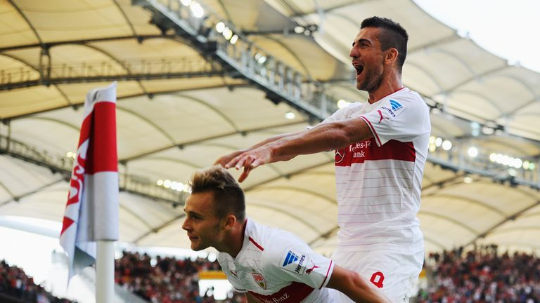 Alexandru Maxim: One of four goalscorers for Stuttgart