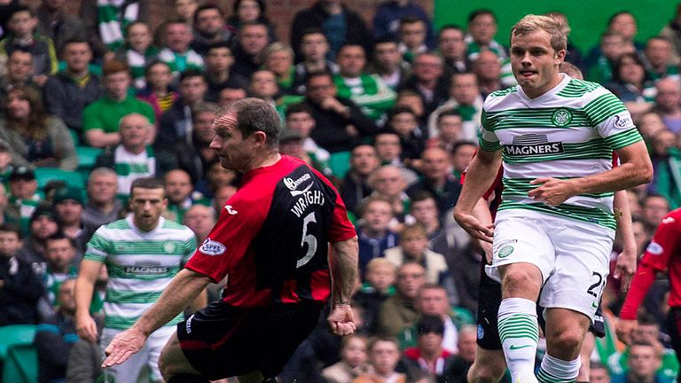 Teemu Pukki: Scores on his Celtic debut
