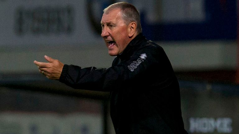 Terry Butcher: Accused Inverness of playing like strangers