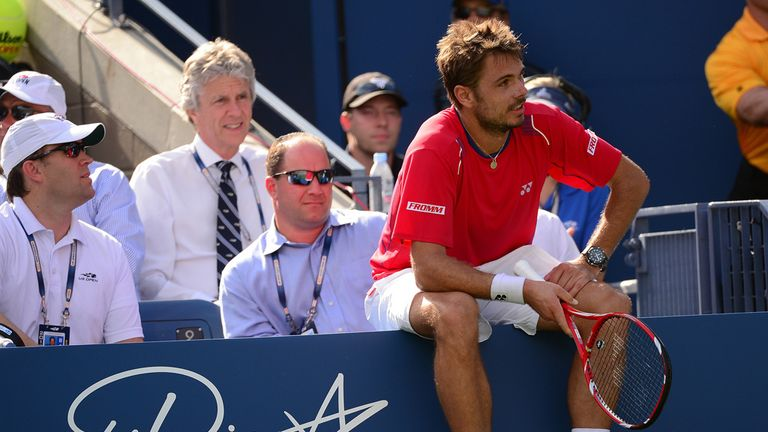 Stanislas Wawrinka: Hopes of reaching ATP World Tour Finals hang in the balance