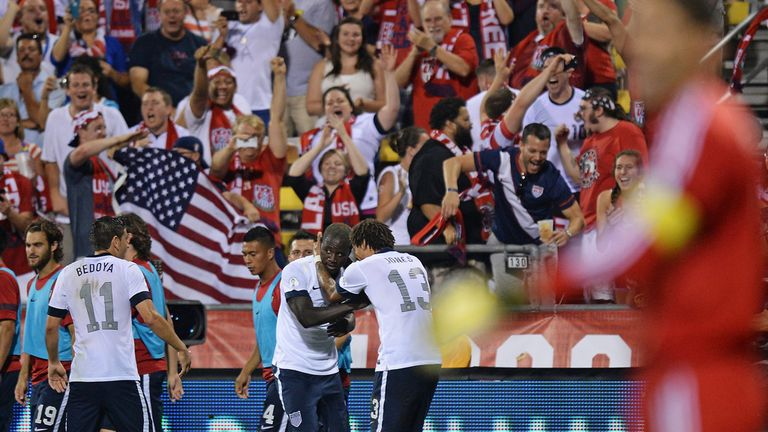 Eddie Johnson: Gave the USA the lead against Mexico in Columbus