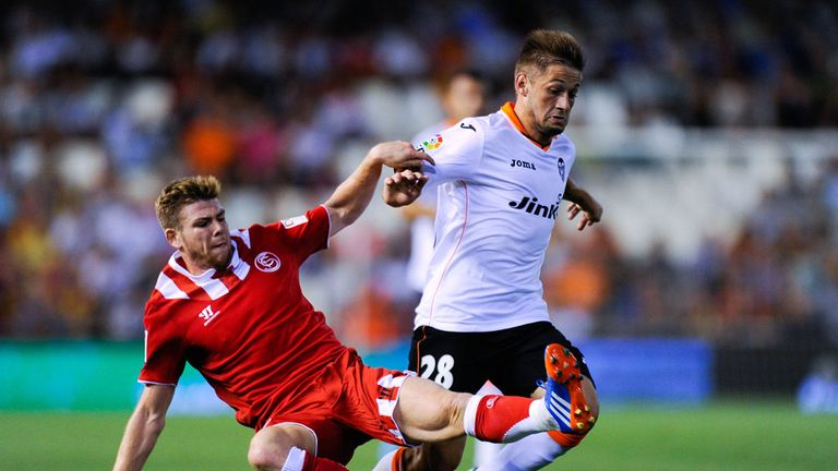Alberto Moreno: New face in the Spain set-up