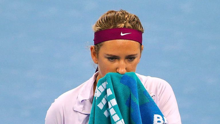 "Victoria Azarenka: ""It's just the bad road and I have to go through that."""