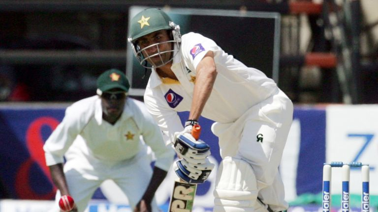 Younis Khan: impressive innings for Pakistan