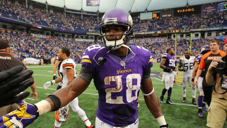 Adrian Peterson: an honourable exception to to the running void