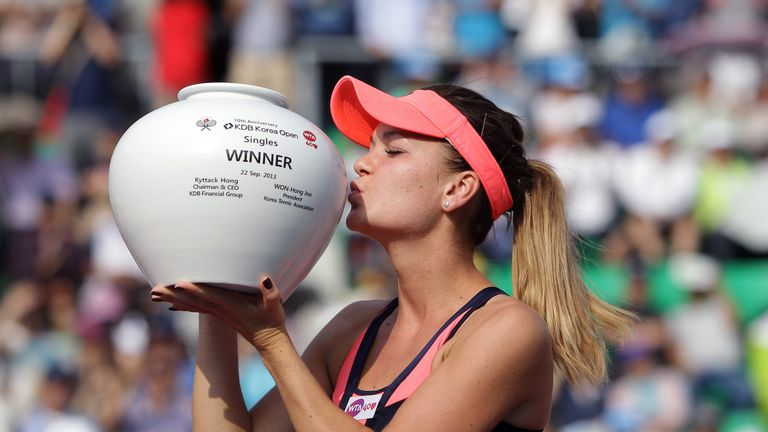 Agnieszka Radwanska: Pole delighted to lift Korea Open trophy