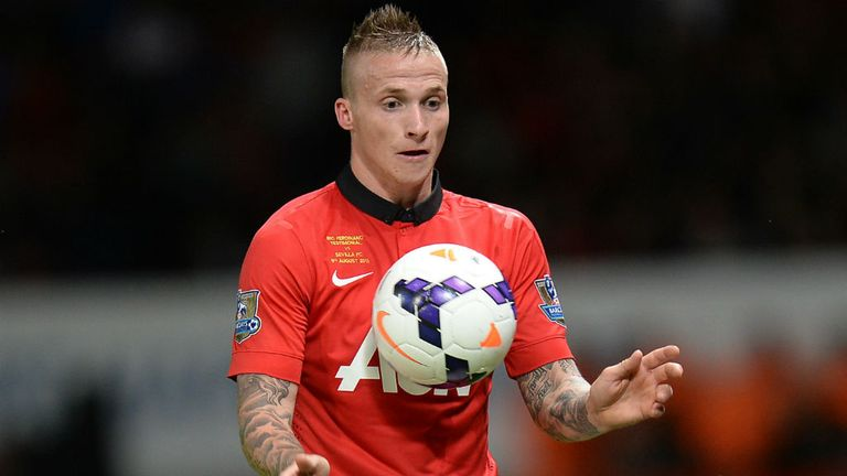 Alex Buttner: Manchester United defender hoping to play against Shakhtar Donetsk