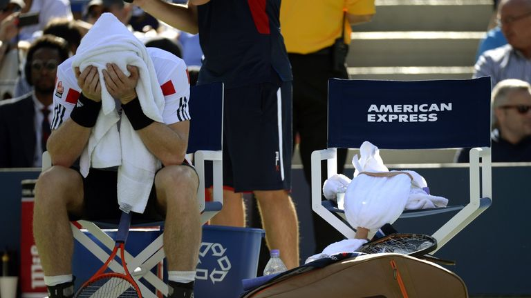 Murray: Was unable to fight back against Wawrinka