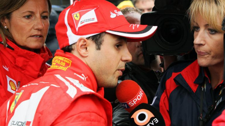 Felipe Massa: Says he is racing for himself